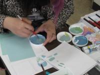 平面構成のトーンと色相の学習1