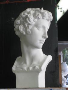 メジチ石膏像