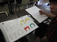 キャラクターデザイン学科の学期末課題2