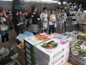 大阪中央卸売市場見学