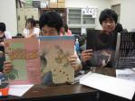 ポスター2種類、チラシがクラス人数分入っていました