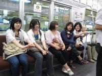 阪神電車の中1