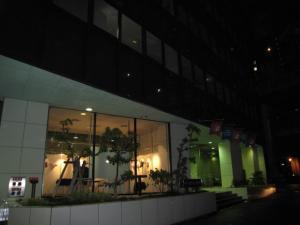 2010年最後の校舎夜景