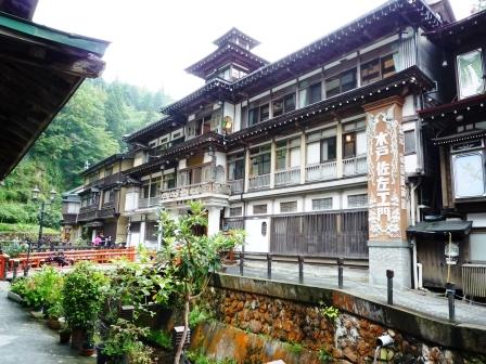 お出かけコロコロ 銀山温泉 能登屋旅館 (1)