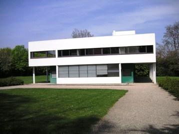 シンプルなル・コルビジェのサボア邸