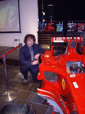 フェラーリとマネージャー