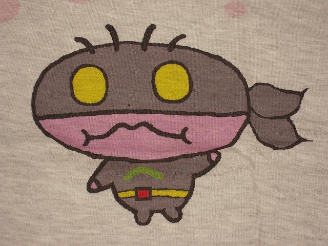 かいけつへむるんTシャツ(アッシュ)004
