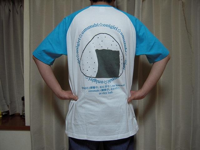 おにぎりTシャツ007