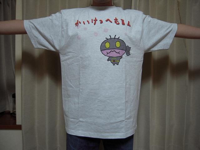 かいけつへむるんTシャツ(アッシュ)006