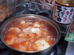 桃ラーキムチ鍋008