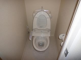 フラッツ・コーシンⅡ303トイレ