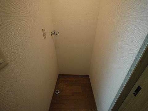 ハラハウス101室内洗濯機置き場
