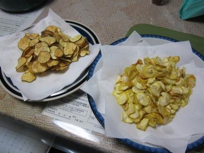 酒の会 野菜チップ仕込み (14)