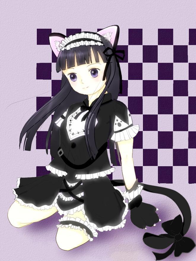 黒猫ドレス実装記念