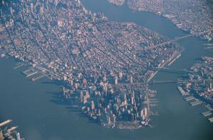 マンハッタン島 縮小