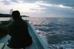 漁船から見た屋久島 縮小