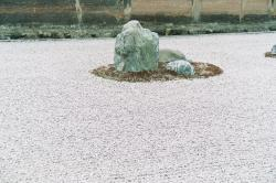京都竜安寺石庭 縮小
