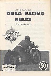 Drag Racing Rules