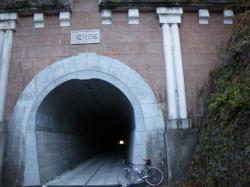 笹子隧道!ここを越えればあとは下りのみ!