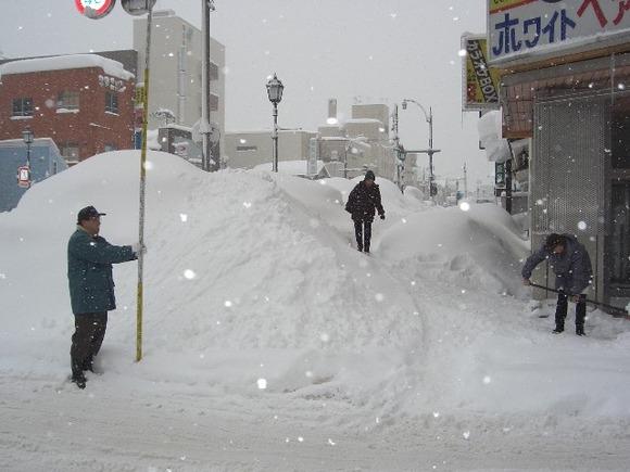 青森市の雪景色1