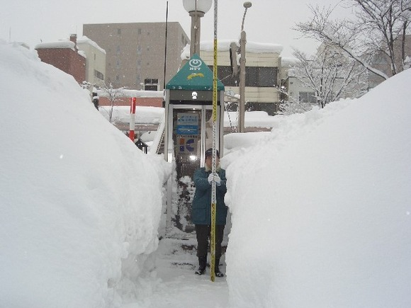 青森市の雪景色3