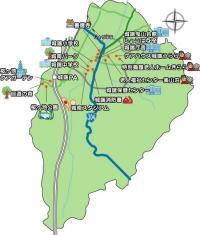 城端地域地図