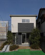 低価格の住宅の外観