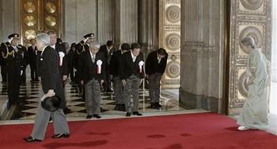 天皇陛下120年記念式典にて