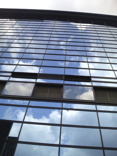 国立博物館の窓