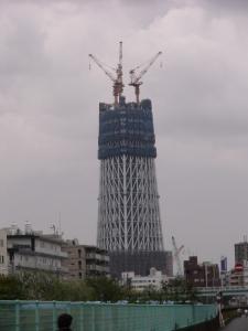 新東京タワー(ただいま工事中)
