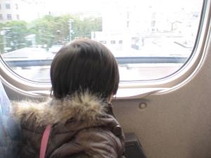 新幹線初乗車