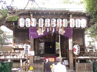 櫻木神社境内