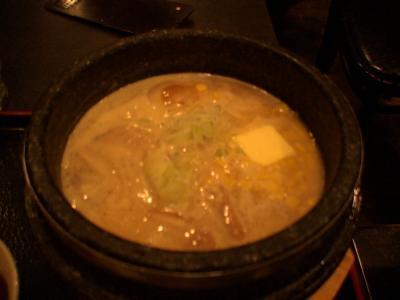 石釜らーめん「田田」のコーンバターラーメン