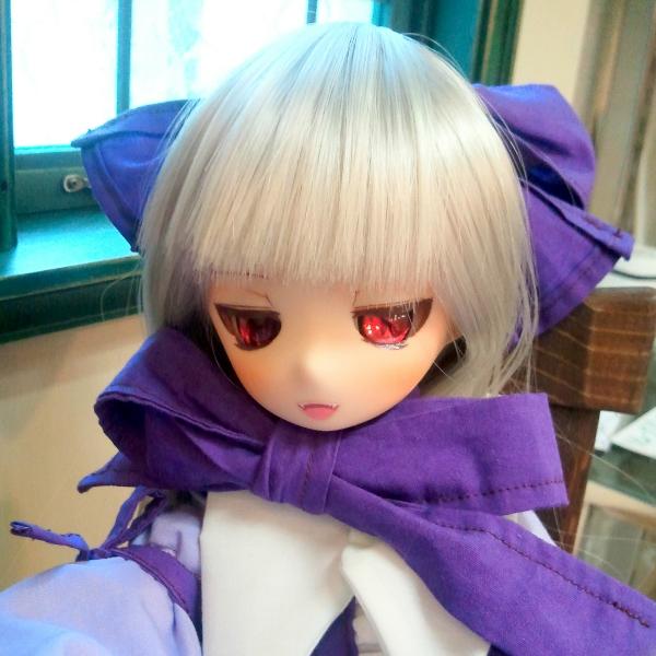 眠り姫開眼ヘッド+MDDボディのお嬢さん