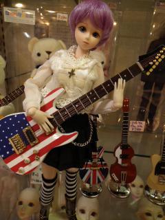 星条旗ギター