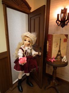 2008年クリスマスアンジェラちゃん赤
