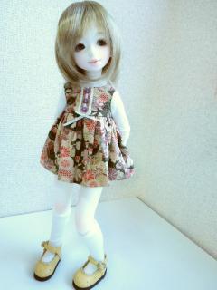 妖精肌ちびユノアさん。身長は約35cmだそうです。