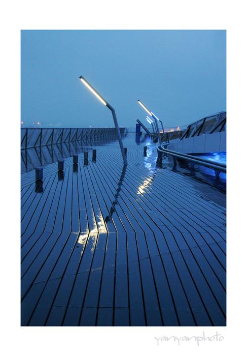 夜の大さん橋ー2