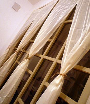 10月9日テラスカーテン