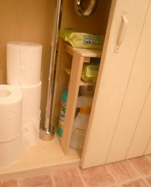 トイレ用棚2