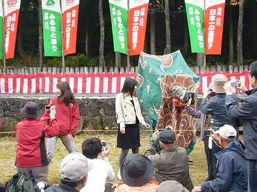 H211018荘川獅子舞競演会記念写真