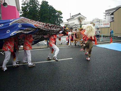 H221031全国獅子舞フェステバル8下梨獅子舞