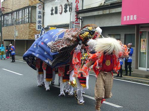 H221031全国獅子舞フェステバル9下梨獅子舞
