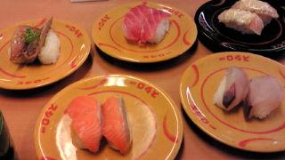 スシローの寿司!