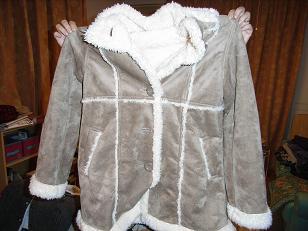 カミさんのボアつきコート