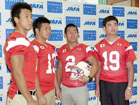 20110704アメフト日本代表記者会見