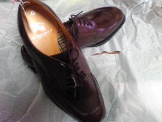 20110903大塚Burberryの靴