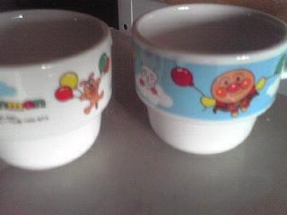 アンパンマンマグカップ
