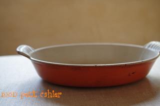 グラタン皿オーバル