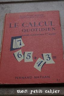 le calcul 1